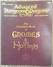 PHBR9 - Complete Book of Gnomes & Halflings (4th) - 2e Dungeons & Dragons - TSR