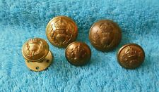 Queens Own Cameron Highlanders Brass Buttons