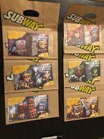 Set of 6 Subway Bags w/ Avengers Pop-Up 26-337