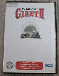 Industry Giant 1 & 2 2002 PC Game By JoWood