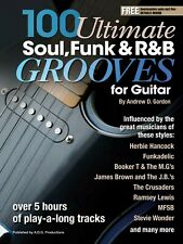 100 Ultimate Soul, Funk and R&B Grooves for Guitar Book/audio files
