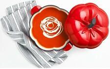 Martha Stewart Tomato Shaped Casserole Enameled Cast Iron 2 QT. (1.89L)
