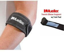 Mueller Tennis Elbow Support Brace with Gel Pad ~ Strain Pain Tennis Elbow