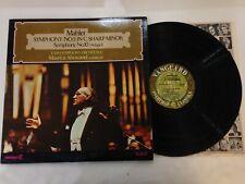 Mahler Symphony No. 5 In C Sharp Minor Symphony No. 10 LP - SRV 321/2 SD
