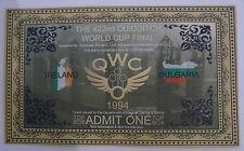 Harry Potter - Quidditch World Cup Final Ticket - Bulgaria Vs Ireland x2