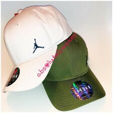 Nike Jordan Sombrero Gorra Jordan clásica de 99 de metal Jumpman Strapback Gimnasio Unisex OS