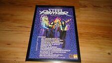STEEL PANTHER 2012 tour-framed original press release promo advert