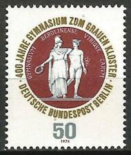 Germany Berlin 1974 MNH 400th Anniv Evangelical Grammar School (Athene Hermes)