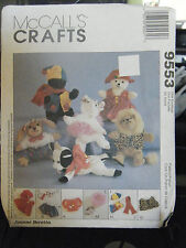 McCall's Crafts Joanne Beretta 9553 Bambini's Clothing & Accessories Pattern