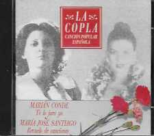 La Copla Cancion Popular Española - Marian Conde/Maria Jose Santiago CD 1992