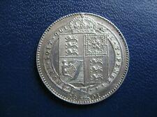 More details for victoria 1891 silver shilling jubilee head s.3926 ef grade
