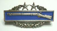 Vietnam War Era US Army Mess Dress Combat Infantry Badge 3rd Award 1/20 Sterling