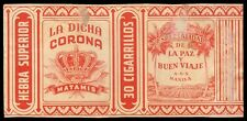 Philippines LA DICHA CORONA MATAMIS Cigarette Label