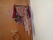 vintage Hand Made Bellydancer Costume Bellydance Outfit