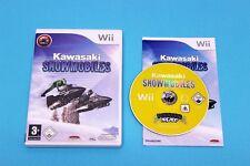 Nintendo Wii Spiel - KAWASAKI SNOWMOBILES - Komplett in Hülle OVP