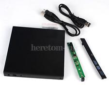 12.7mm USB 2.0 External Slim Caddy Case For Laptop DVDRW DVD-W Combo IDE Drive