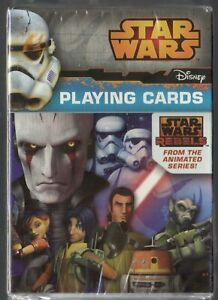 Star Wars Rebels, Animated Series Playing Cards by Cartumndi, Sealed, New
