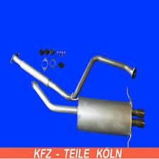 FORD USA - Probe II - 2.0 16V - Mittel + Endschalldämpfer Auspuff + Set