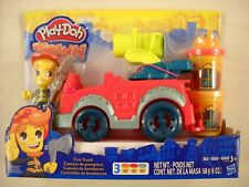 Play-Doh Town Fire Truck Playset by Hasbro Playdoh with 3 Play-Doh Canisters