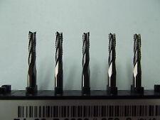 5 VHM  Spiralverzahnte Fräser + 2,7 mm  Modelbau + Dremel + Proxxon + CNC