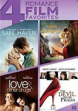Safe Haven/Water for Elephants/Love  Other Drugs/The Devil Wears Prada (DVD)New
