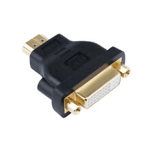 DVI Female to HDMI Male Adapter Bi-directional DVI-I 24+5 Port Converter