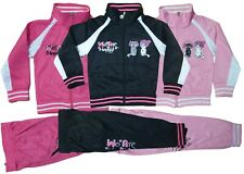 Mädchen Jogginganzug Trainingsanzug Kinder Sportanzug Jacke Hose Katze