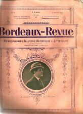 Bordeaux Revue 1919.18 pages.Nombreuses Pub.