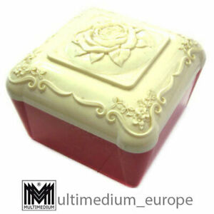 Art Deco Deckel Dose Bakelit Catalin Kunststoff 30er bis 50er bakelite rose box