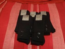 5 Pair Knee High Black Socks. Perfect for Presents