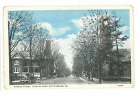 Market Street Looking West MIFFLINBURG PA Union County Pennsylvania Postcard