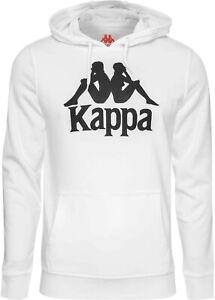 Men's New Kappa Fleece Hoodie Hoody Hooded Sweatshirt Jumper Pullover Jacket