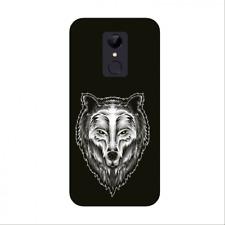 Funda Carcasa GEL silicona para XIAOMI REDMI 5 PLUS dibujo lobo