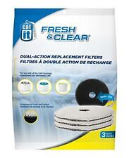 Hagen Catit Fresh & Clear Replacement Carbon Filters 55601 for Fountain 55600