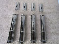 NICE HARLEY DAVIDSON OEM TWIN CAM CHROME PUSHROD TUBES AND CLIPS