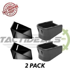 2 Pack Glock OEM Factory Plus 2 Magazine Extension Base Pad  For 9MM .40 .357