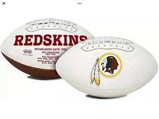 Washington Redskins Full Size Embroidered Logo Football NFL Signature Autograph