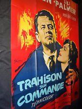 TRAHISON SUR COMMANDE william holden  affiche cinema  1962