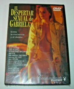 EL DESPERTAR SEXUAL DE GABRIELA - CINE DE MEDIANOCHE PLAYBOY DVD PRECINTADO