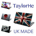"""TaylorHe 15.6"""" Laptop Skin Cover Sticker Decal LEATHER EFFECT"""