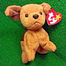 Ty Beanie Baby Tuffy The Terrier Rare NEW Dog Plush Toy RETIRED 1996 - MWMT