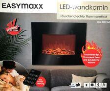 EASYmaxx 03888 Elektro-Wandkamin - Schwarz