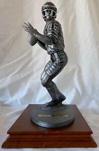 Rare Gartlan Joe Montana Signed Pewter Figurine #229/500 SF 49ers HOF PSA/DNA