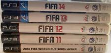 Ps3 Playstation Spiele FIFA EA Sports Bundle 2011-2014 + WM 2010 VGC