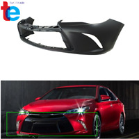 For 2015 2016 2017 Toyota Camry Front Plastic Primed Bumper Cover