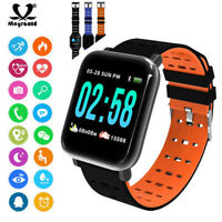 A6 Bracelet Band Heart Rate Monitor Blood Pressure Fitness Tracker Smart Watch