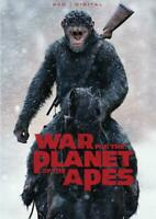 WAR FOR THE PLANET OF THE APES NEW DVD