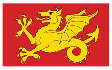 2 X WESSEX EMBLEM FLAG VINYL STICKERS CAR VAN TRUCK TAXI LORRY