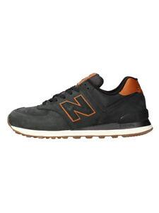 New Balance Sneakers  Uomo Mod. ML574 PELLE NBI Nero