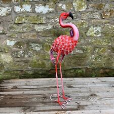 Primus Metal Forward Facing Flamingo - Garden Ornament, Art, Sculpture